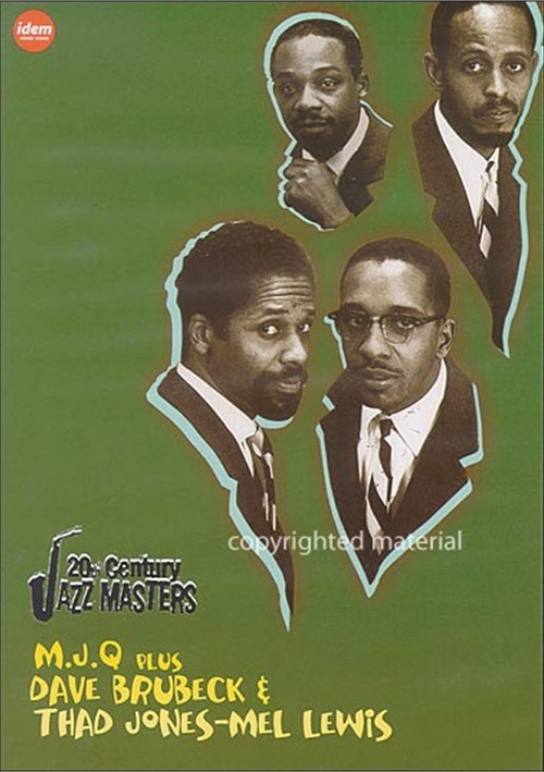 20th Century Jazz Masters: Dave Brubeck, Thad Jones-Mel Lewis, M.J.Q.
