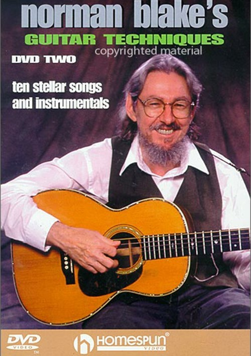 Norman Blakes Guitar Techniques DVD Two