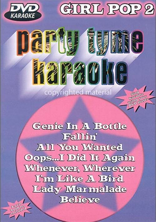 Party Tyme Karaoke: Girl Pop 2