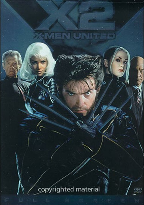 X2 Dvd Cover