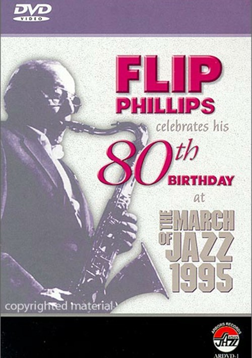 Flip Phillips Celebrates His 80th Birthday At The March Of Jazz 1995