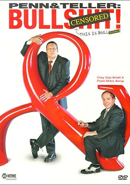 Penn & Teller: BS! The Complete Season 1 - Censored