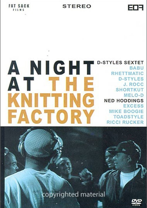 Night At The Knitting Factory, A: D-Styles Sextet & Ned Hoddings