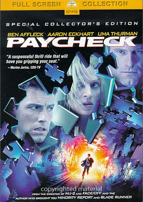 Paycheck: Special Collectors Edition (Fullscreen)