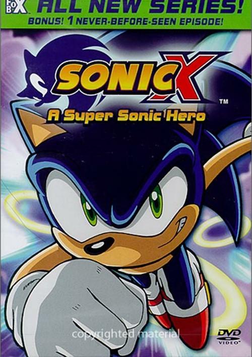 Sonic X: Volume 1 - A Super Sonic Hero
