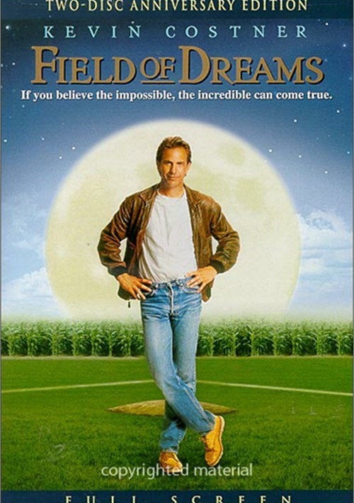 a review of the movie field of dreams Take a few pitches and learn about shoeless joe, the first ghost to appear on the field in the movie send a picturesque postcard to a friend.