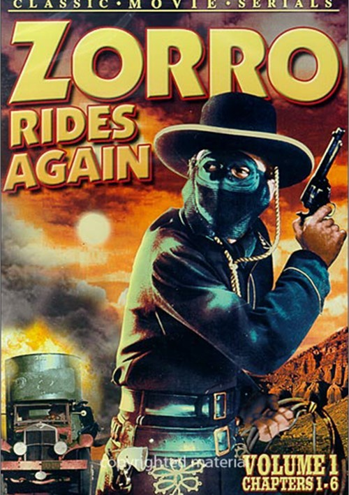 Zorro Rides Again: Volume 1 (Chapters 1-6)