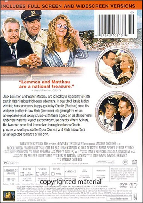 Out To Sea (DVD 1997)