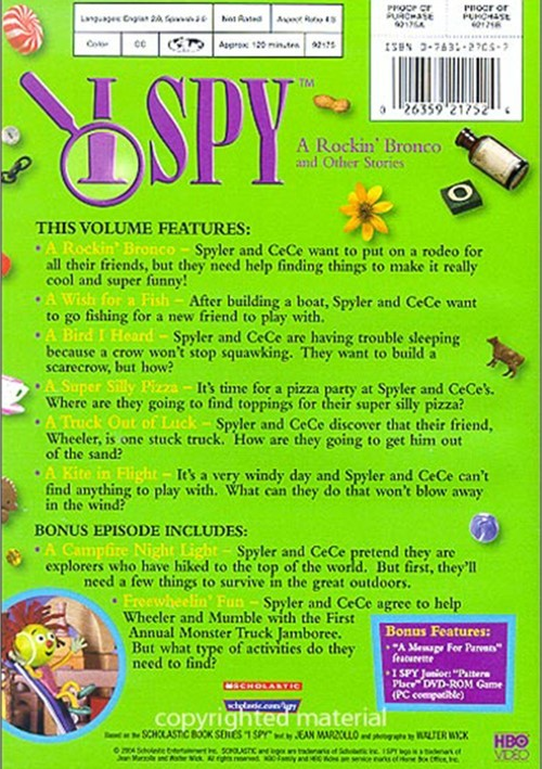 I Spy A Rockin Bronco And Other Stories Dvd 2004 Dvd