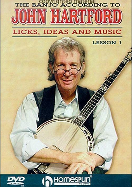 Banjo According To John Hartford, The: Licks, Ideas And Music - Lesson 1