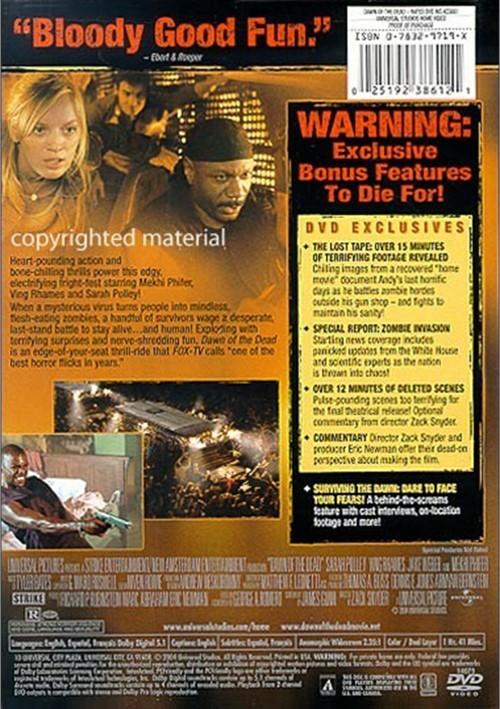 Dawn Of The Dead (Widescreen) (DVD 2004) | DVD Empire