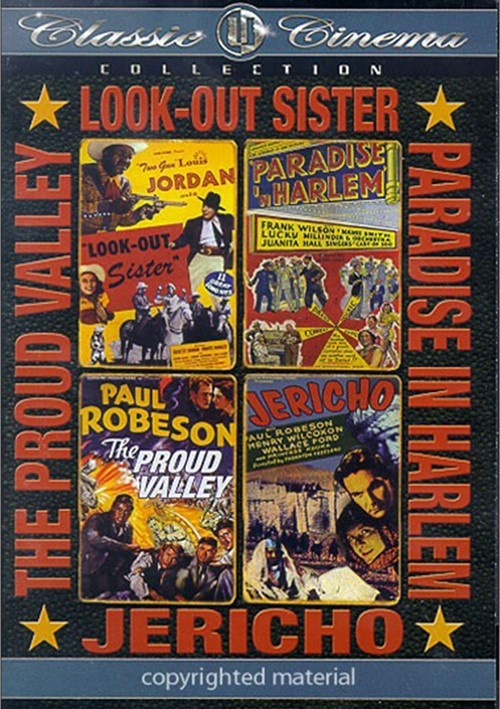 UW Classic Cinema Collection: Look Out Sister / Paradise In Harlem / The Proud Valley / Jericho