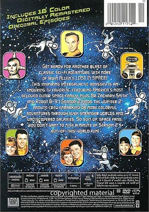 Lost In Space Season 2 Volume 1 Dvd 1967 Dvd Empire