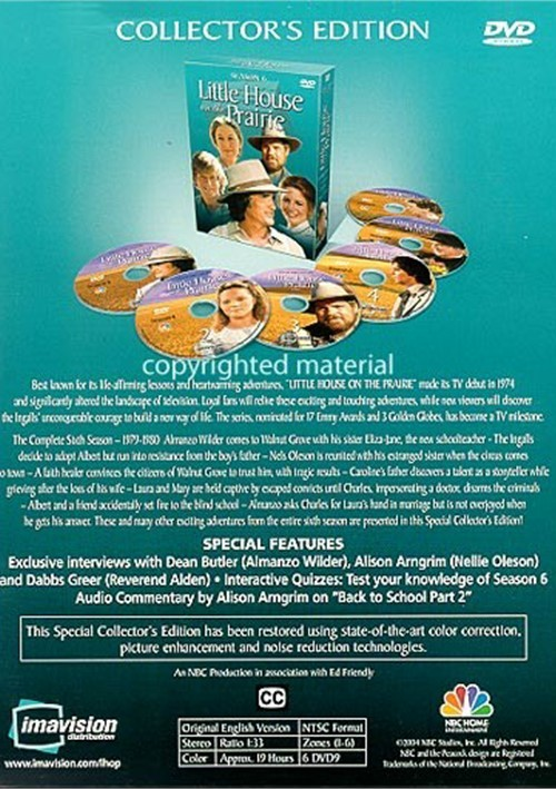 Little House On The Prairie: Season 6 (DVD 1979)