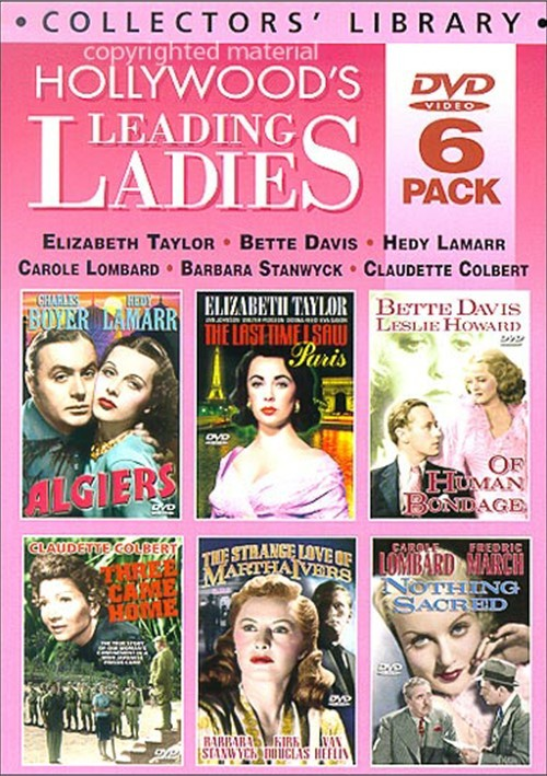 Hollywoods Leading Ladies (6 DVD Box Set) (Alpha)