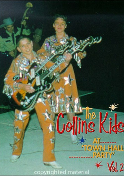 Collins Kids At Town Hall Party, The: Volume 2