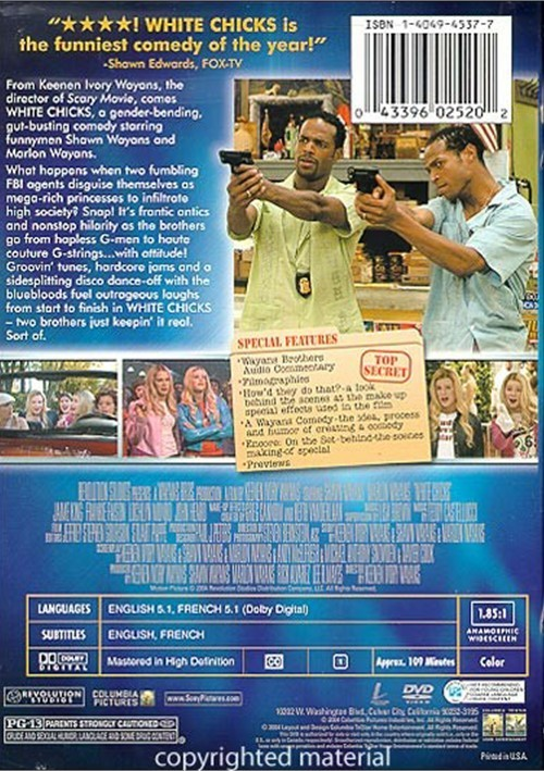 White Chicks (DVD 2004)