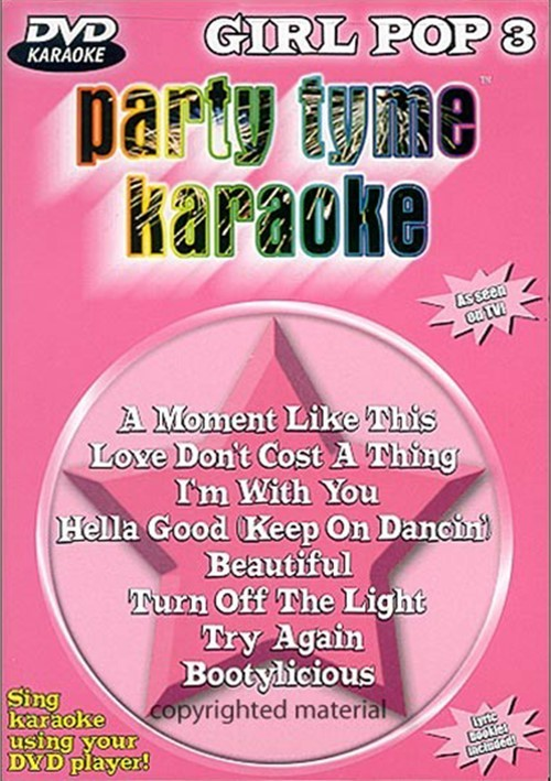 Party Tyme Karaoke: Girl Pop 3