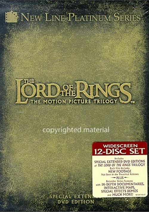 Lord Of The Rings, The: Special Extended Edition 3 Pack