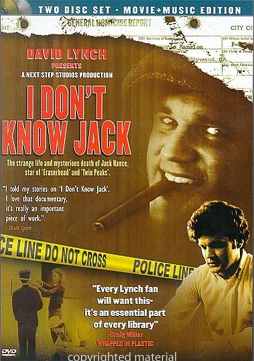 I Dont Know Jack