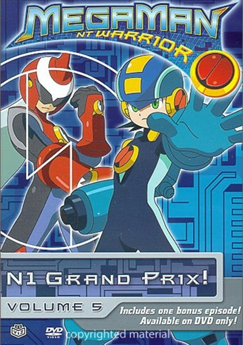 Megaman NT Warrior: Volume 5 - Grand Prix!