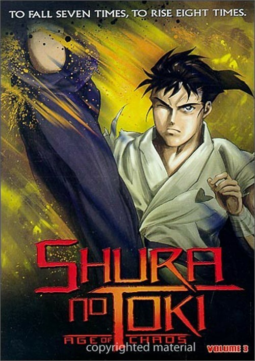 Shura No Toki: Age Of Chaos - Volume 3