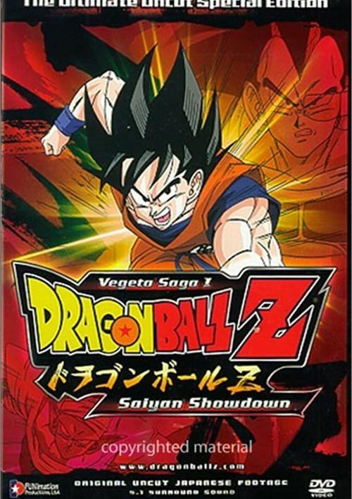Dragon Ball Z: Vegeta Saga 1 - Sayain Showdown (Uncut)