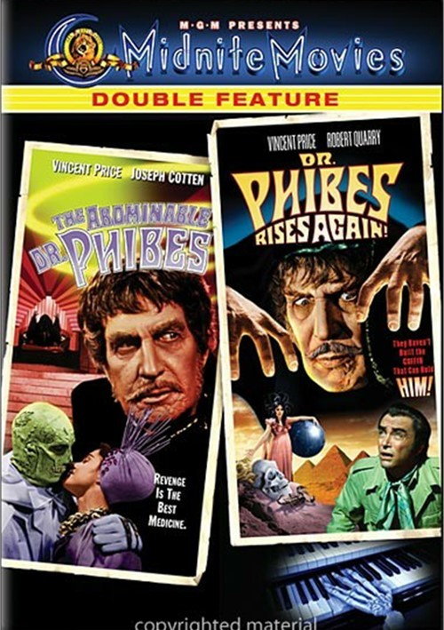 Abominable Dr. Phibes / Dr. Phibes Rises Again (Double Feature)