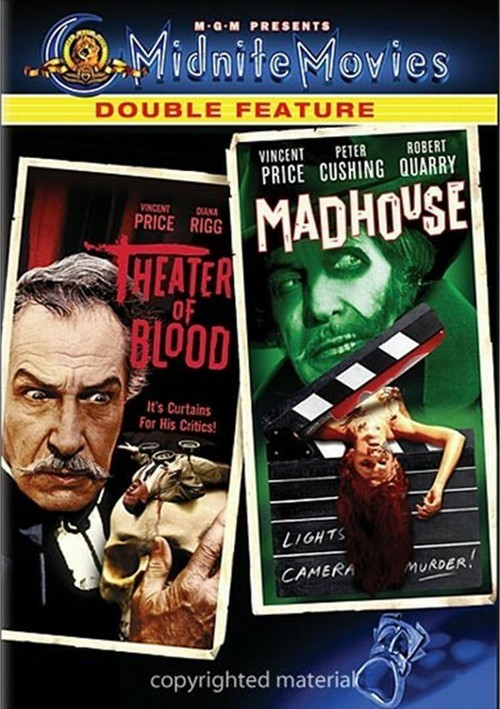 Theater Of Blood / Madhouse (Double Feature)