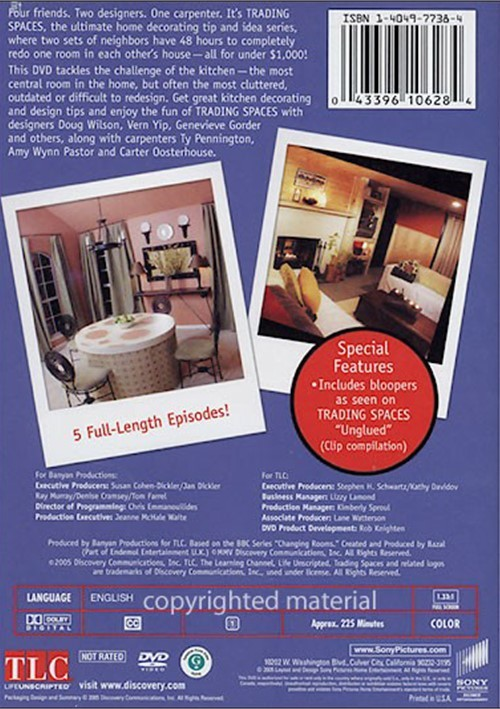 Trading spaces great kitchen designs and more dvd 2005 for Kitchen designs and more
