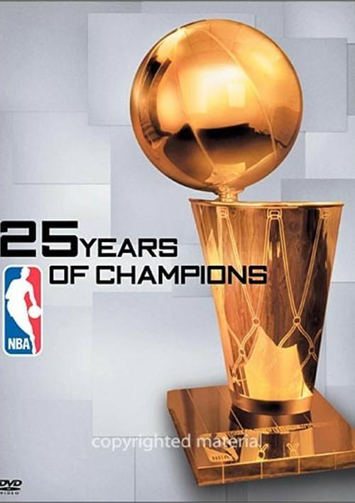 NBA: 25 Years Of Champions (DVD 2005) | DVD Empire