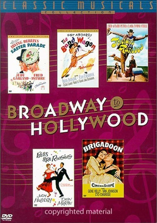 Broadway To Hollywood (5-Pack)