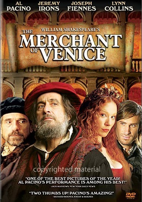 the view of justice in the merchant of venice a play by william shakespeare The stage history of the merchant of venice from the be found in shakespeare's play the black shylock demanded justice from the white duke of venice.