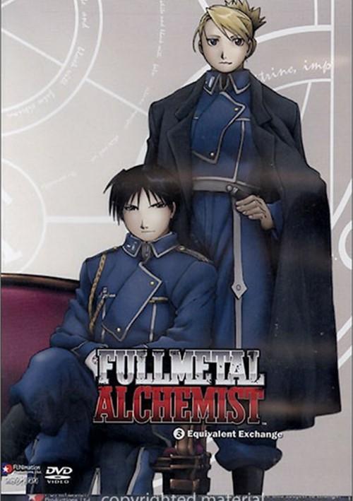 Fullmetal Alchemist: Volume 3 - Equivalent Exchange (DVD ...