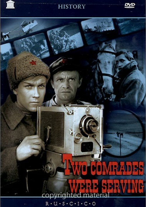 Two Comrades Were Serving