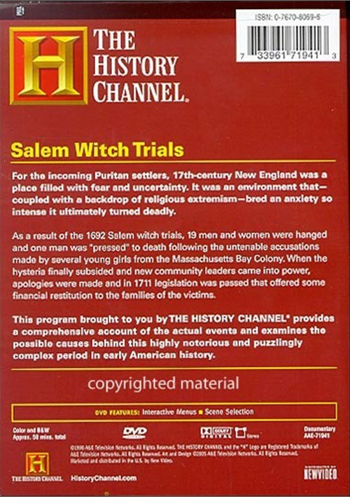 an explanation of the hysteria of the salem witch trials