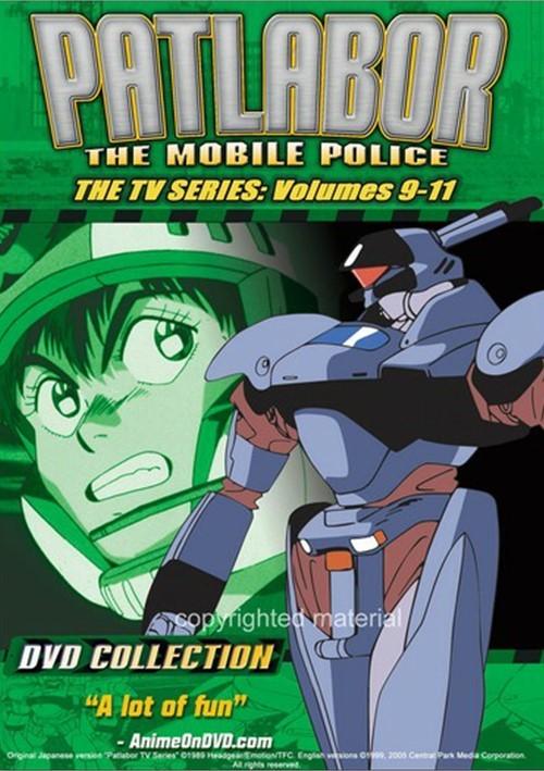 Patlabor: The Mobile Police - TV Series 9-11