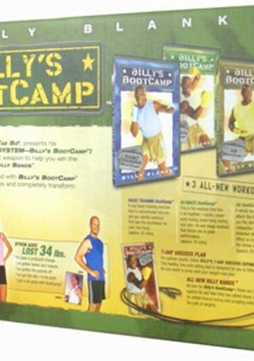 billy 39 s boot camp box set dvd 2005 dvd empire. Black Bedroom Furniture Sets. Home Design Ideas