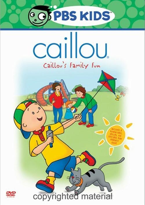 Caillou: Family Fun