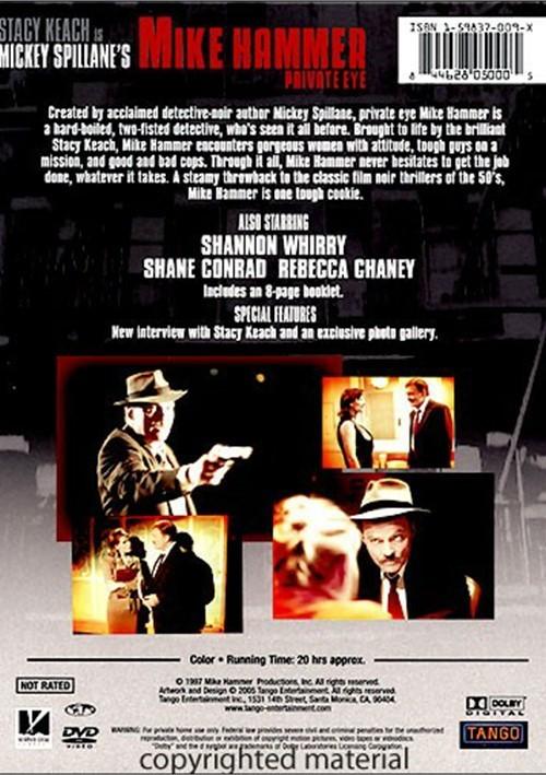 Mickey Spillane S Mike Hammer Private Eye Dvd 1997 Dvd Empire