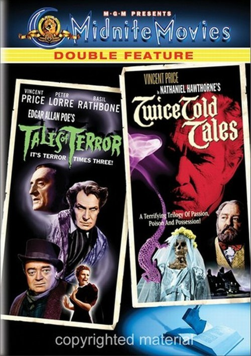 Tales Of Terror / Twice Told Tales (Double Feature)
