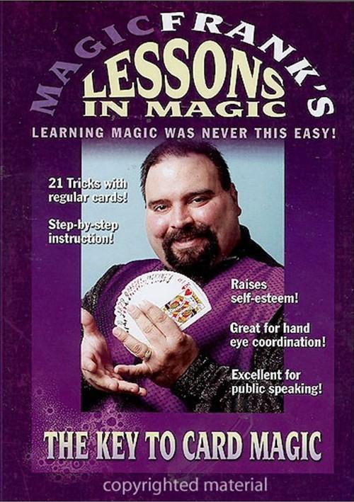Magic Franks Lessons In Magic: The Key To Card Magic!