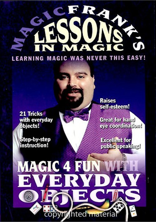 Magic Franks Lessons In Magic: Magic 4 Fun!