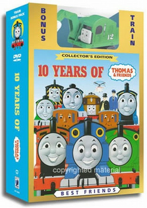 Thomas & Friends: 10 Years Of Thomas & Friends (with Toy ...