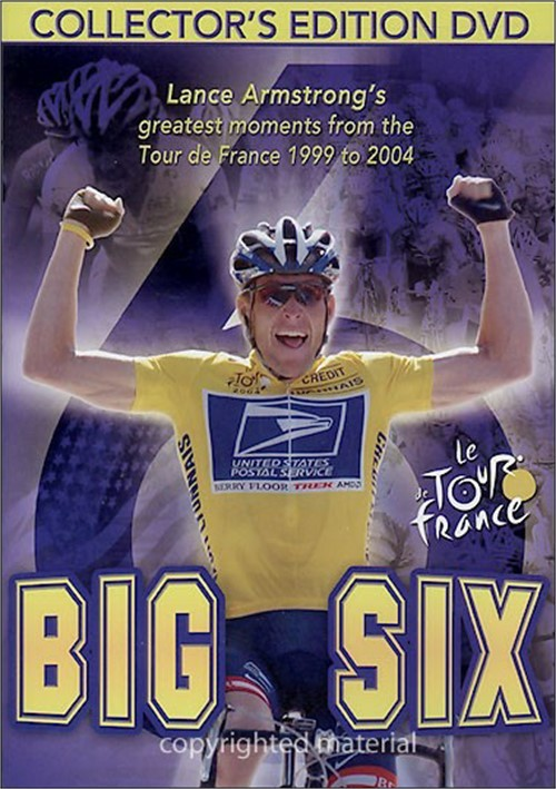Big Six: Lance Armstrongs Greatest Moments Of The Tour De France From 1999 To 2004