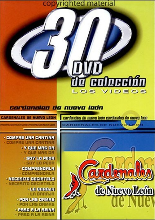 Cardenales De Nuevo Leon: 30 DVD De Coleccion