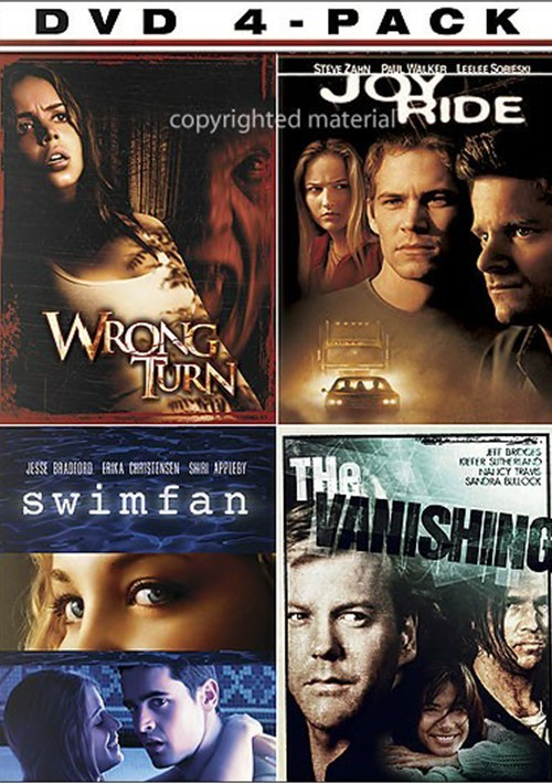 Thriller 4 Pack: Wrong Turn / Joy Ride / Swimfan / The Vanishing