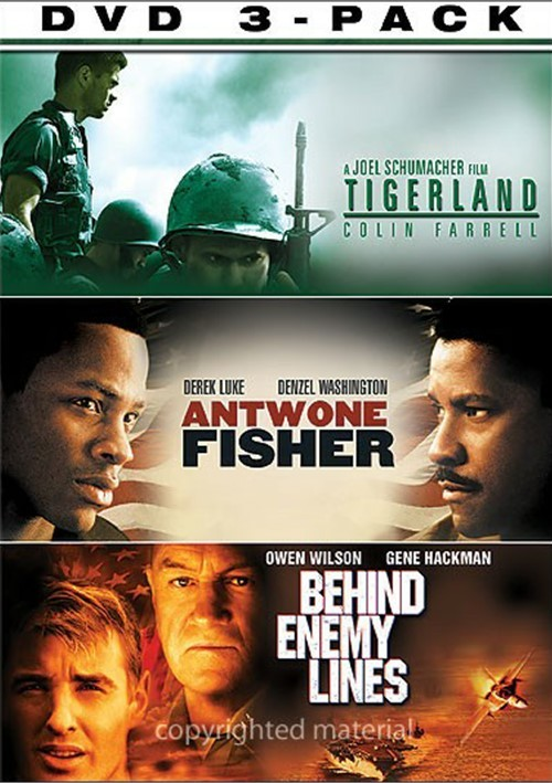 Soldiers 3 Pack, The (Tigerland - Antwone Fisher - Behind Enemy Lines)