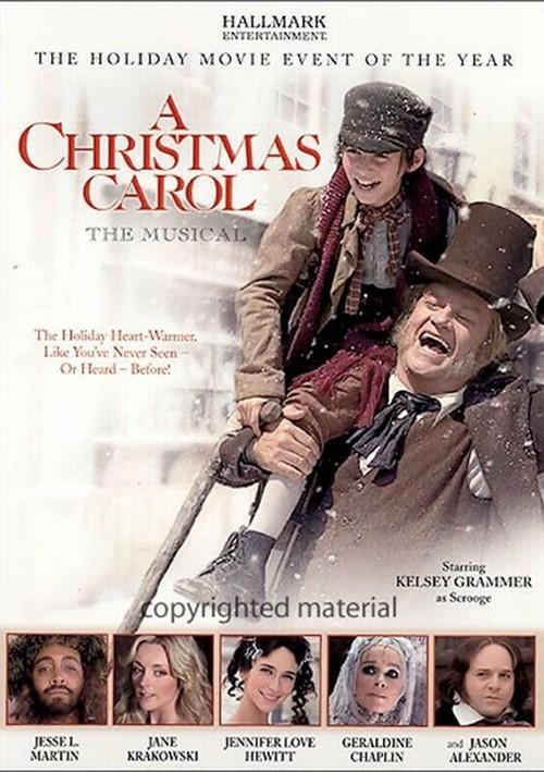 Christmas Carol, A: The Musical (DVD 2004) | DVD Empire
