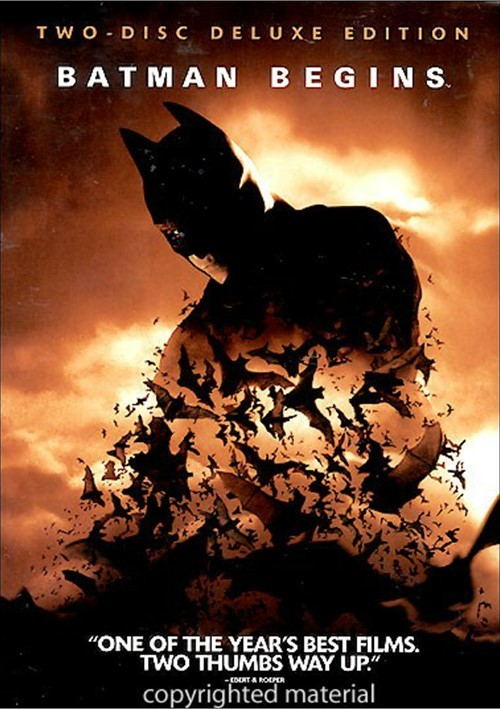 Batman Begins:2-Disc Deluxe Edition with Comic Book